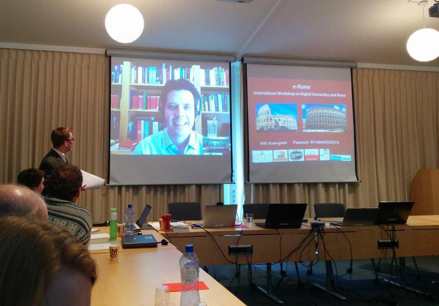 2015-3-4  eRome conference Wassenaar